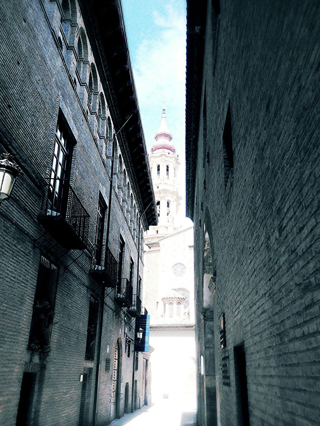 Zaragoza City Arquitecture Mudejar La Seo