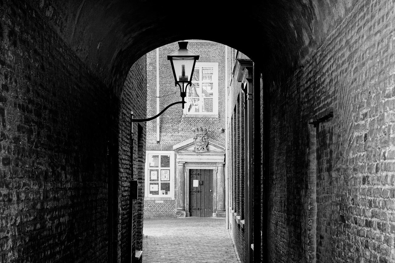 Citylight Arch Architecture Built Structure City Day Dordrecht Europe Lamp No People The Way Forward