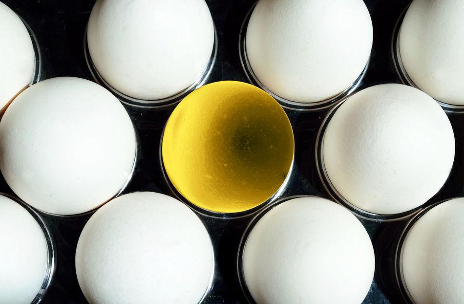 Backgrounds Close-up Egg Yolk Eggs Full Frame Gold Golden Egg No People