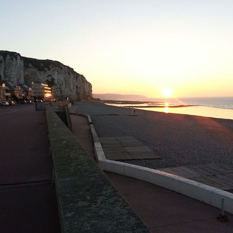 Battle Of The Cities The autumn is coming! Sunset Sea Beach Tranquility City Sun Dieppe Normandie France🇫🇷 Clicclacphoto