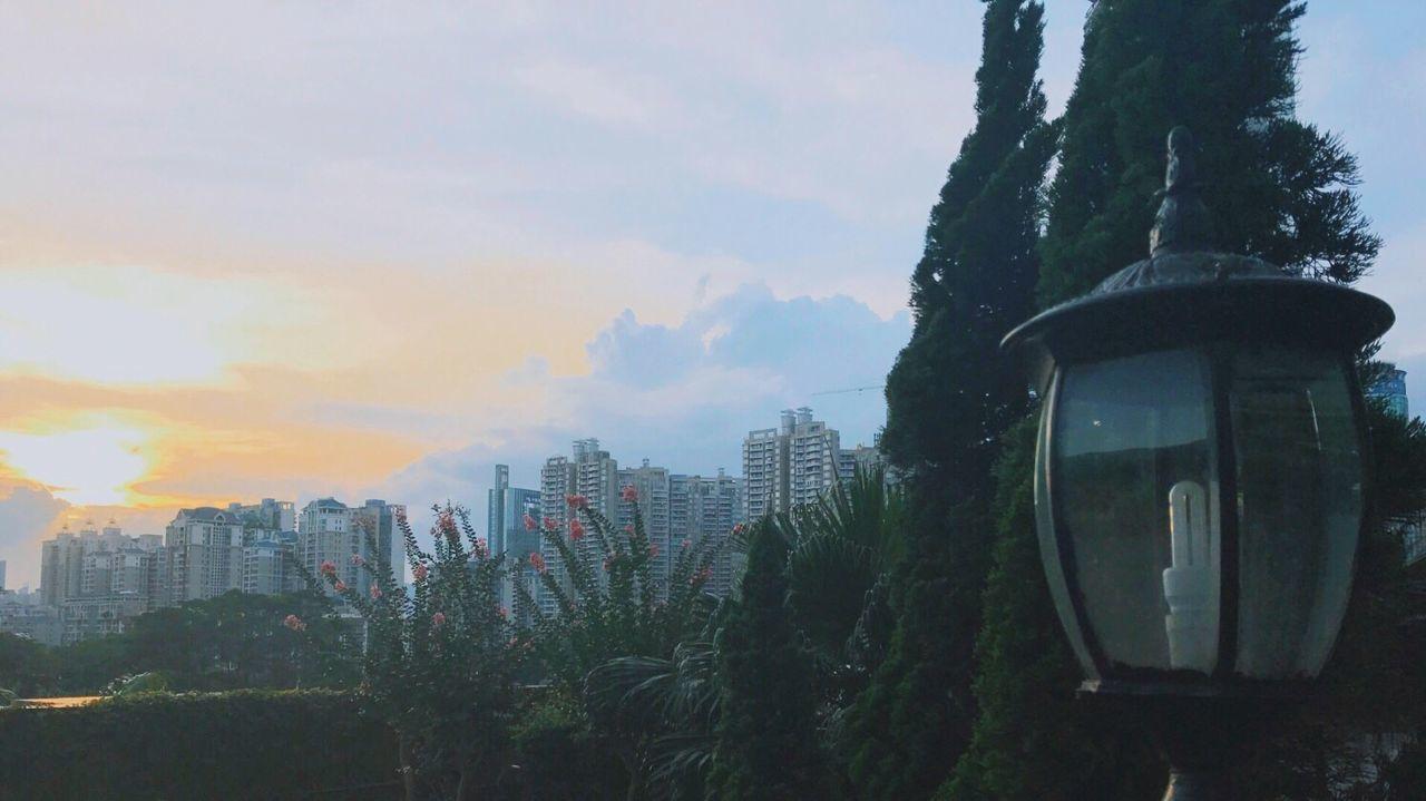 The setting sun is infinite good, the sky into the dusk_🌆