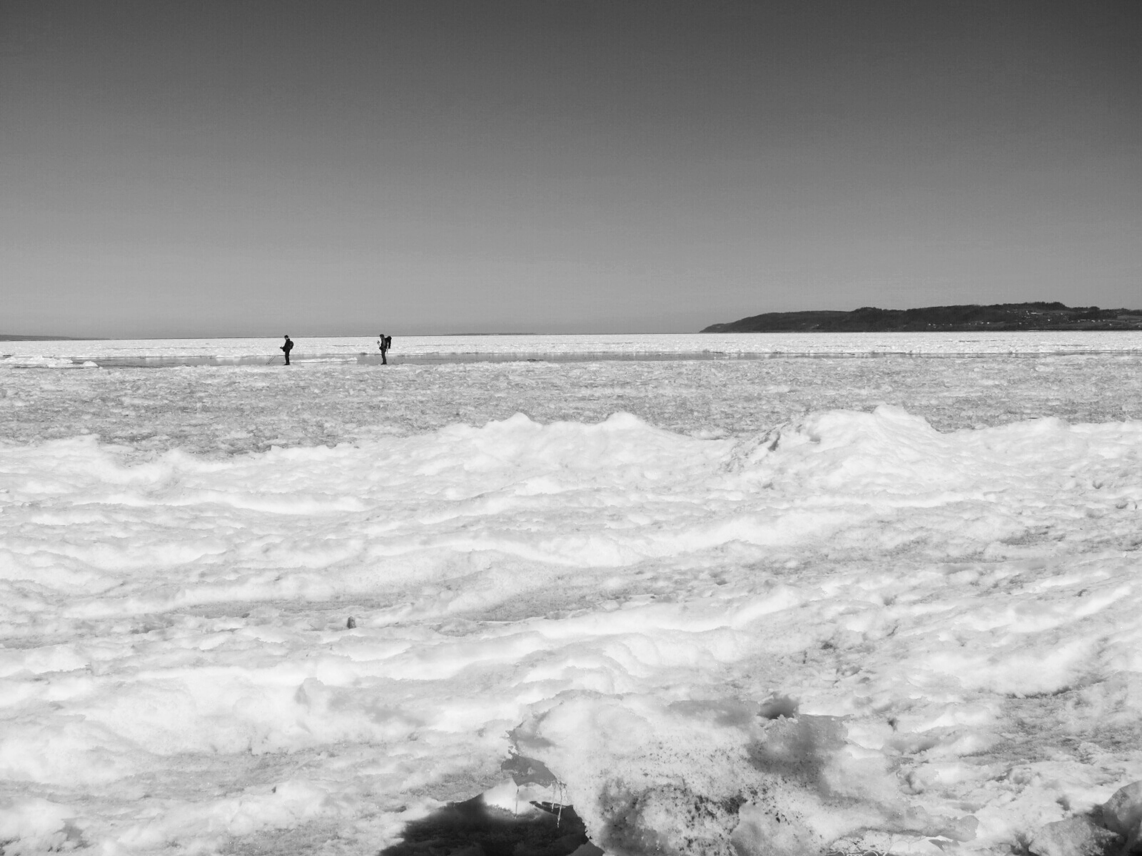 Skating, probably not recommended a day like today. Skater Lake Divelandscape Blackandwhite