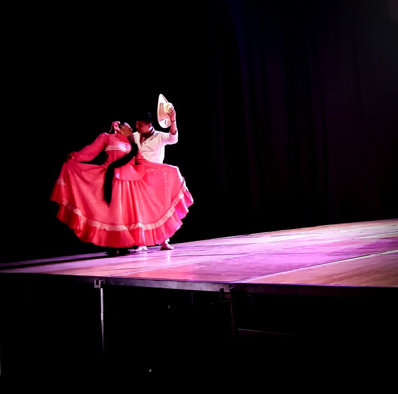Folk Dance Kiss Rosé Dress
