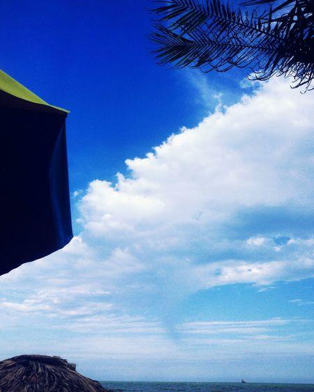 Samsonbeach Blue Sky Beautiful Nice View Loveit Sunday Great Enjoytime Meonthebeach ✌👌