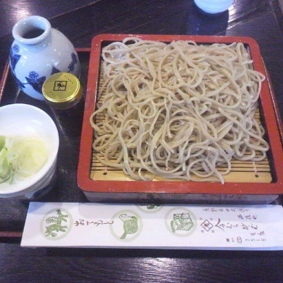 九一蕎麦 今むら本店で「盛り蕎麦(700円)」 新そばウマイ~