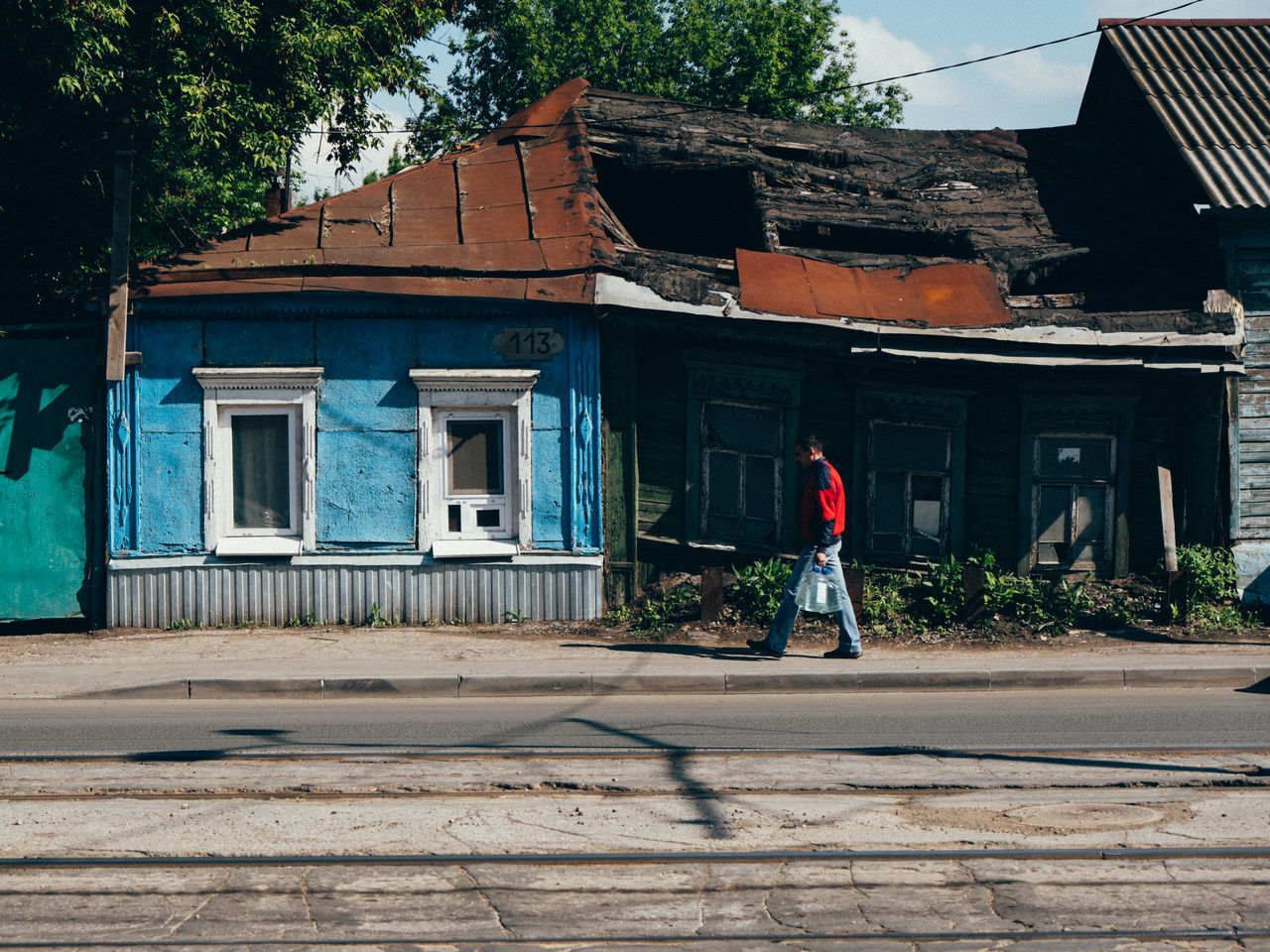 Architecture Building Exterior Built Structure Day Full Length One Person Outdoors Real People Russia Samara Street Photography Streetphotography Walking