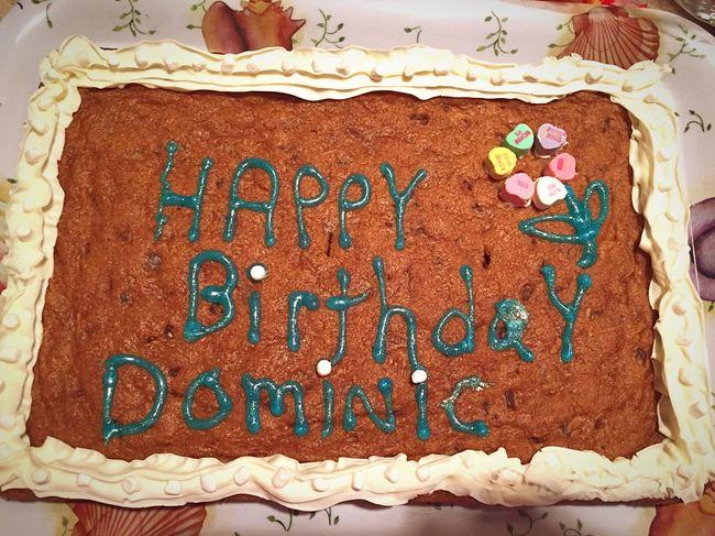 Happy Birthday! Birthday Cake Cookiecake Frosting Baking Dessert