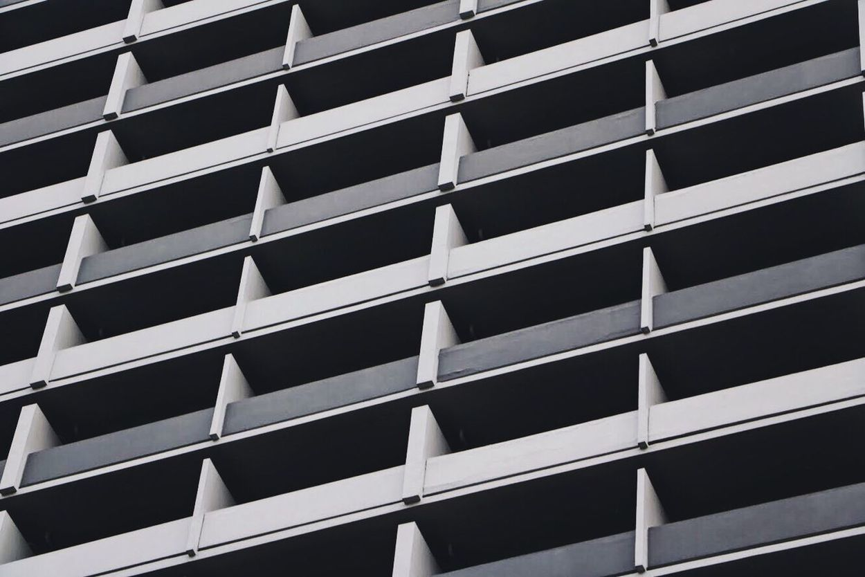 Leading lines Architecture Built Structure In A Row Building Exterior Pattern Full Frame Window No People Indoors  Day City VSCO EyeEmNewHere EyeEm Selects Contrast Singapore Backgrounds Modern City Low Angle View Architecture Black Wallpaper High Angle View Close-up