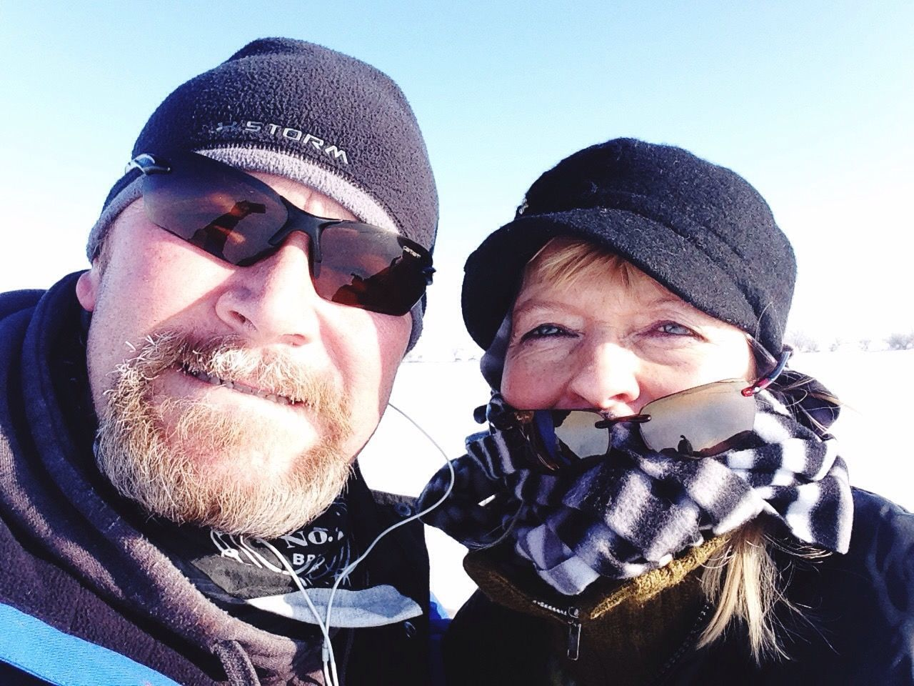 Adventure Buddies another day out ice fishing .... Brrrrrrrr