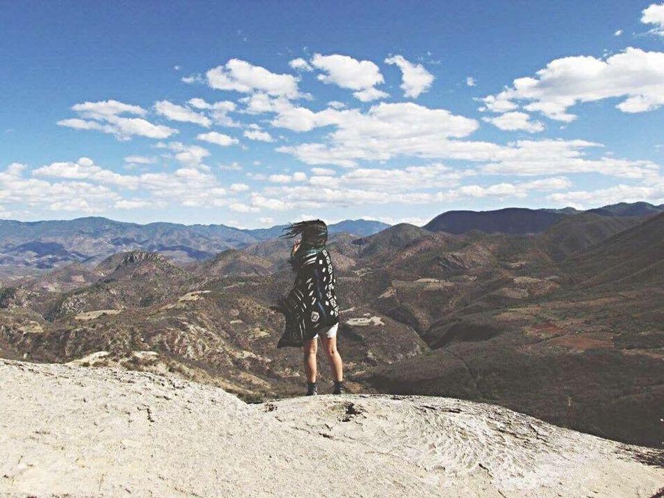 Oaxaca 2016 Blue Sky Sky Mexico Myself Landscape Vianeycarre