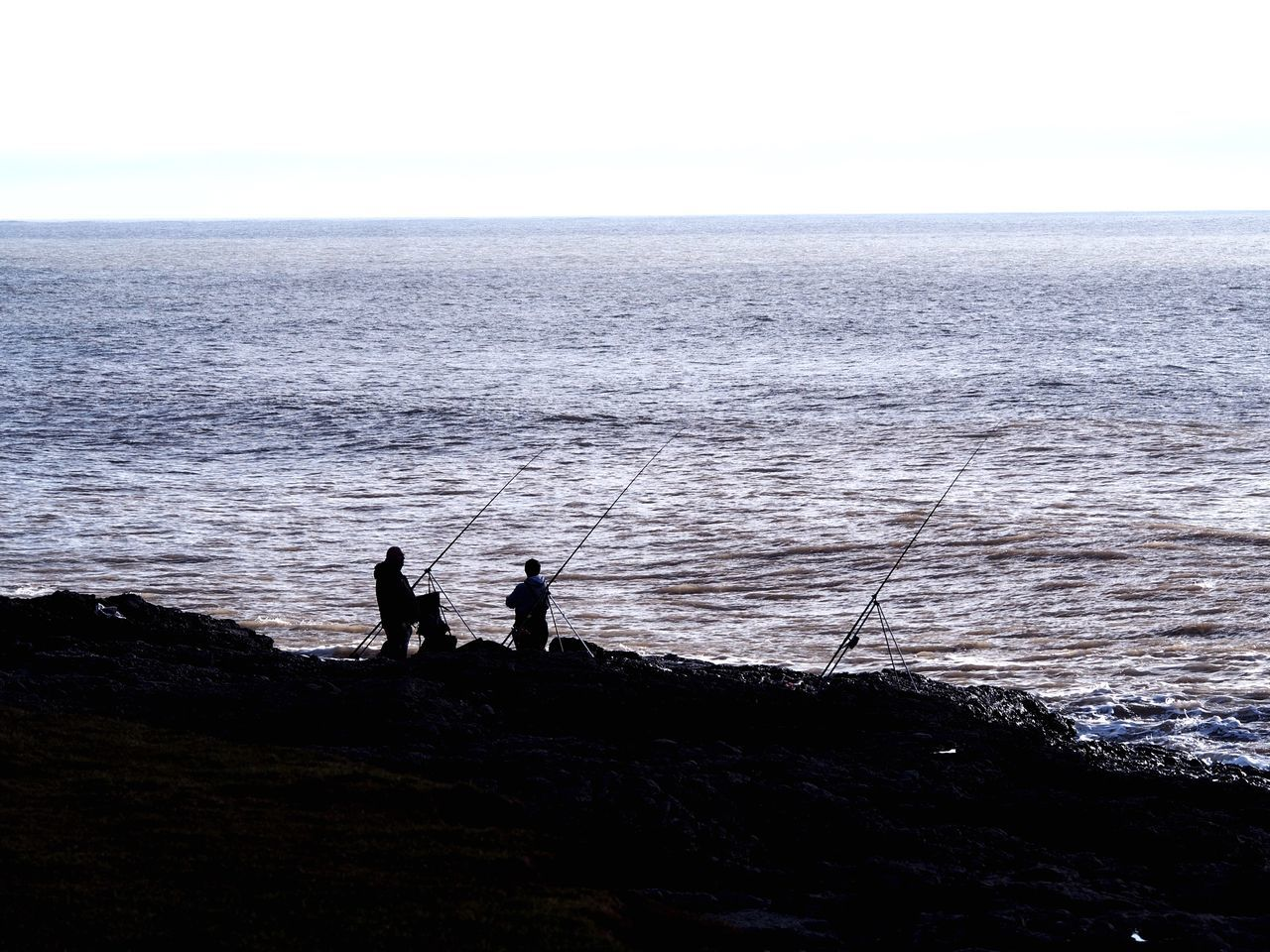 Fishing Wales Taking Pictures Beach People And Places