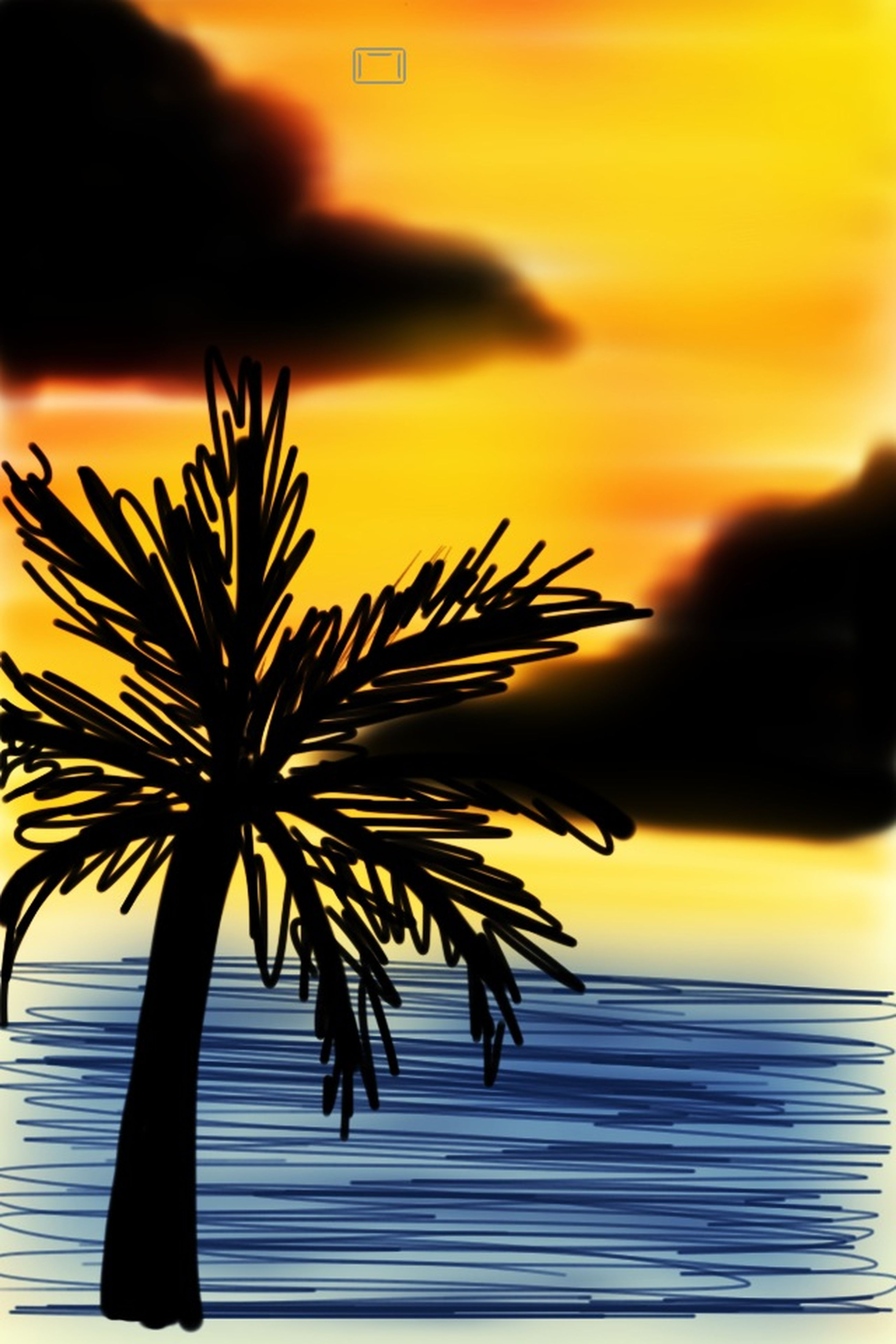 palm tree, sunset, silhouette, sea, orange color, sky, water, beach, horizon over water, beauty in nature, nature, scenics, tranquility, tranquil scene, growth, outdoors, palm leaf, idyllic, incidental people, tree