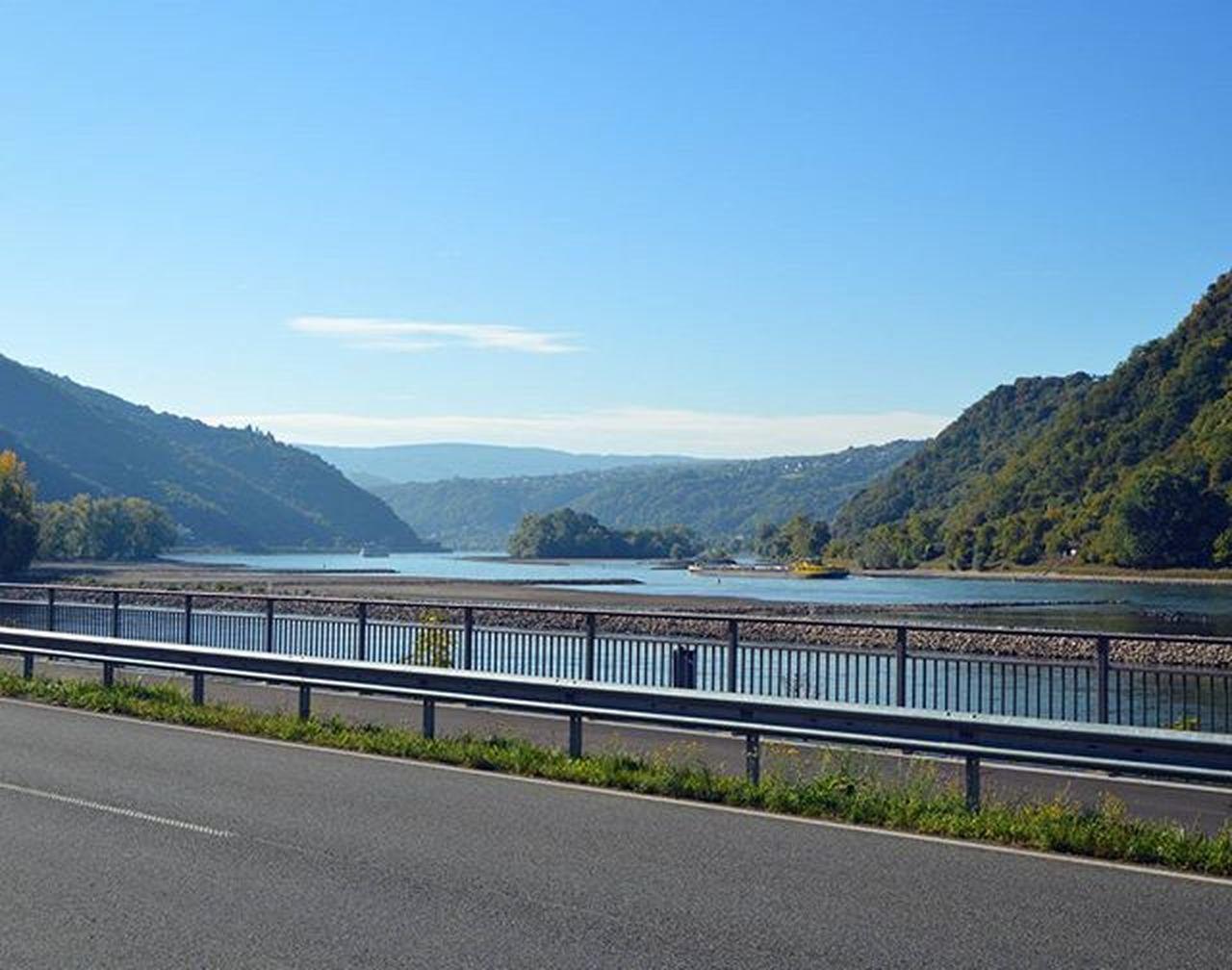 Der Rhein ist schön! Rhein Rheinlandpfalz Kaub Deutschland Germany Europe