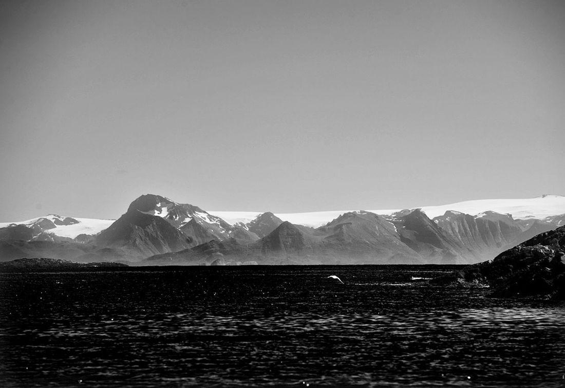 The glacier Svartisen in Norway. Seen from Myken. Svartisen Norway🇳🇴 Blackandwhite Photography Helgelandskysten Myken Wildnature Glacier Nordland