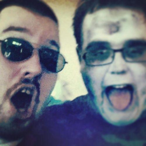 Koellerilla Style mit @koellerilla Boss @johnny23dk und Dockoellewood ! Koellewood Karneval2014 merspingksewatkütt