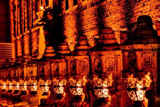 Night Building Lantern