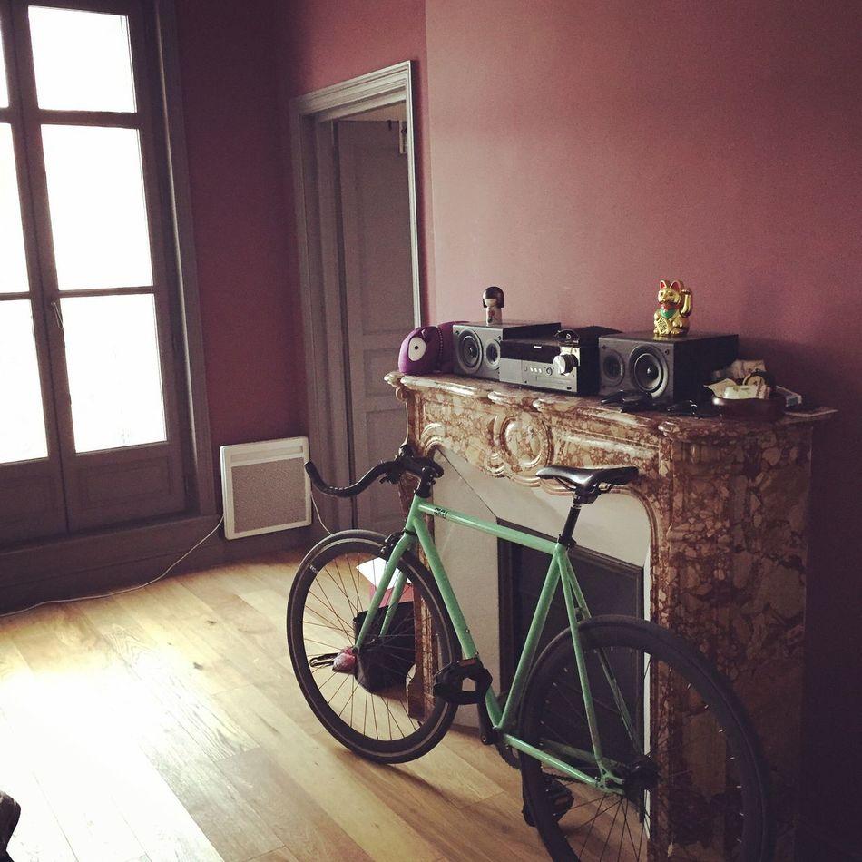 Bike Fixie 6ku Pignon Fixe Vole Marseille IPhoneography