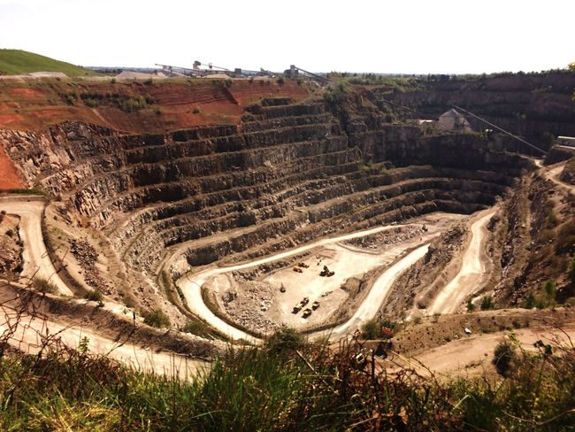 Quarry Croft Hill Industrial Amazing Structure Detailed