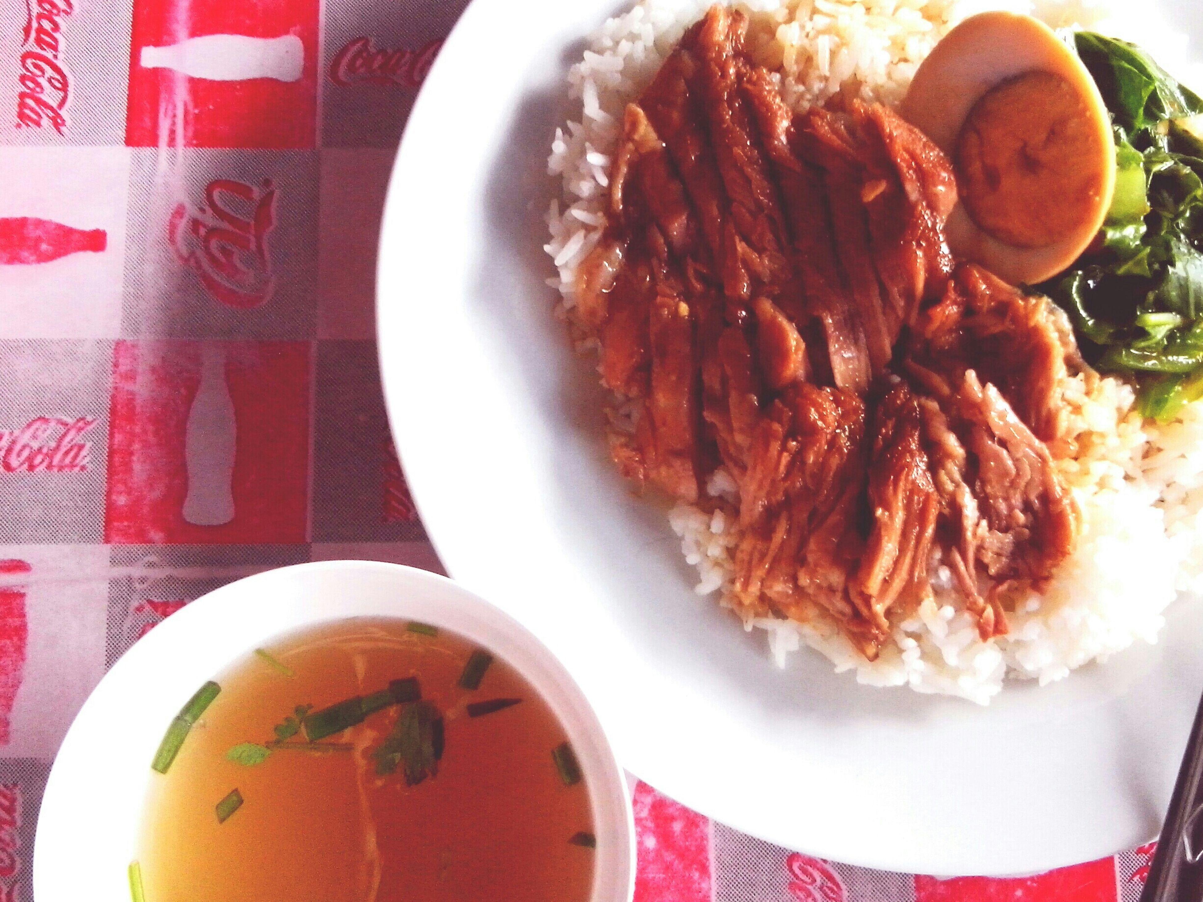 ข้าวขาหมู stewed pork leg on rice. Stewed Pork Leg Eat Eat And Eat Enjoying A Meal Eating Food Photography Thai Food Happy Time