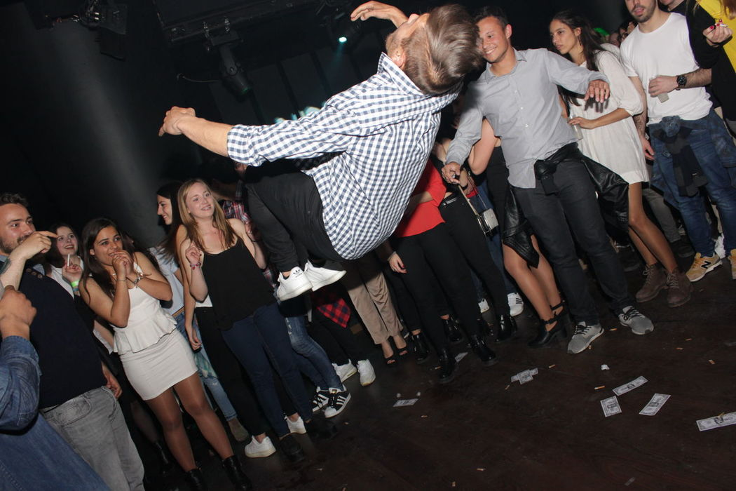 Alchool Arts Culture And Entertainment Event Jump Jumping Lifestyles Men Mortal Music Night Nightphotography People Photography Person