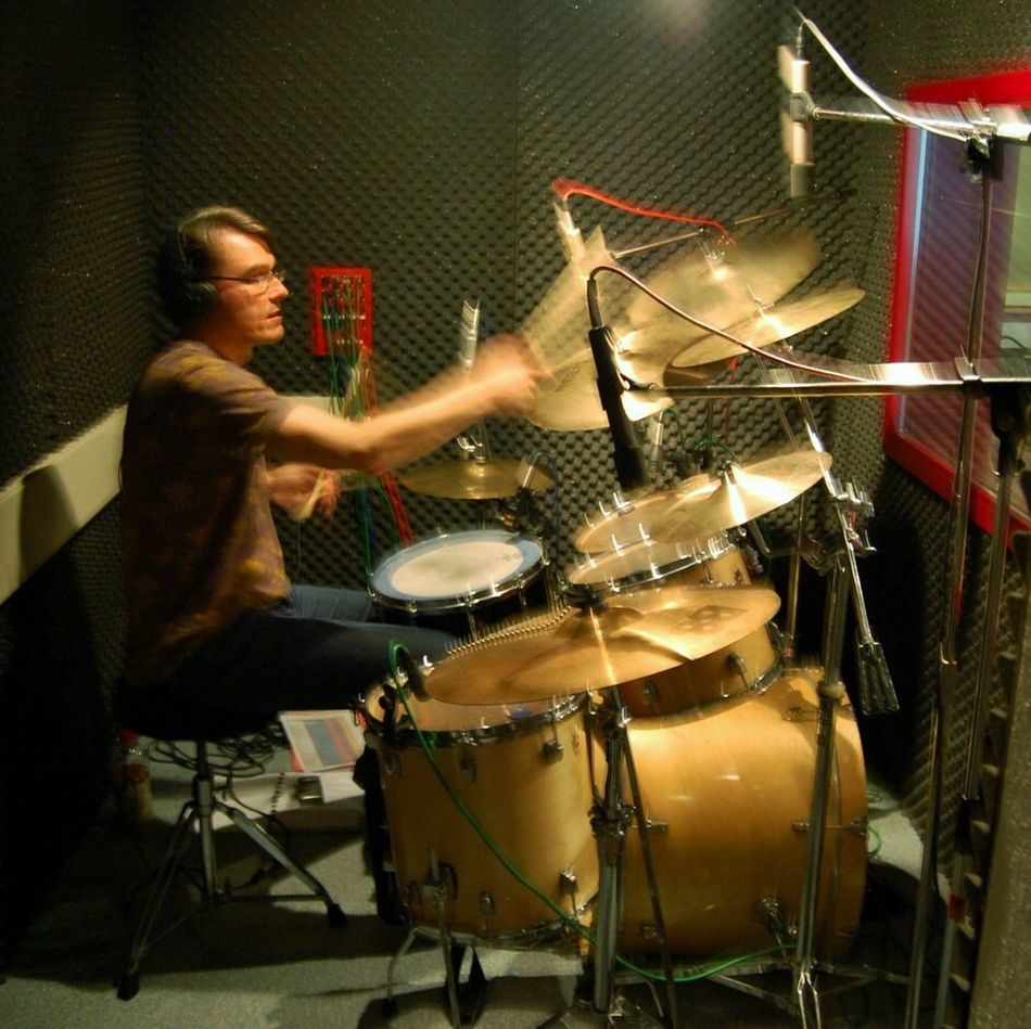 3 Different Drummers. number 2. the fumbly Studio Flopper. for him, every recording session is a Substitute For Sport. Liveguards