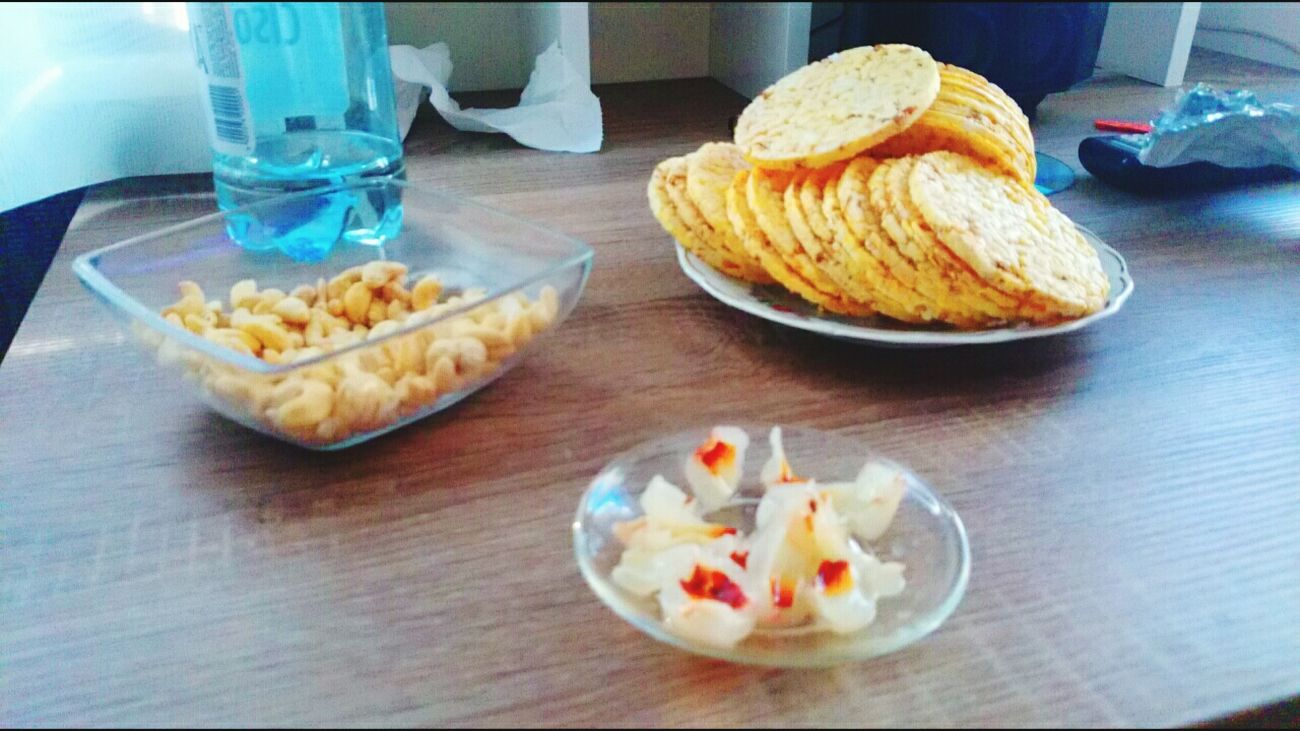 Fitfood Healthy Food Liczi Corn Cakes Nuts Breakfast