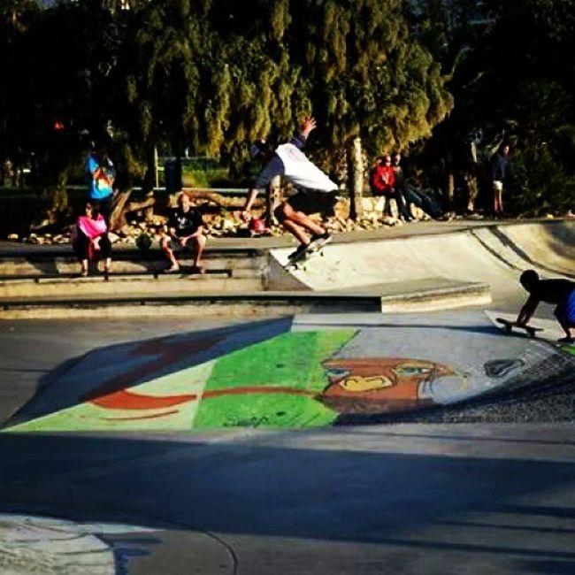 Missing Port Elizabeth. ♥ Portelizabeth Southafrica Happytimes Beach Ocean Sea Clouds Memorablemoments April 2014 Thingsilove Thingsimiss ♥♥♥ Parks Skatepark Skating Streetart