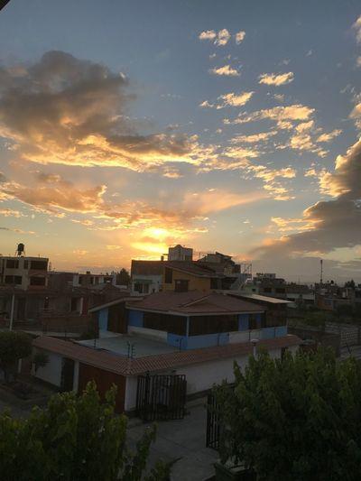 🌇 Sunset Cloud - Sky Nofilter