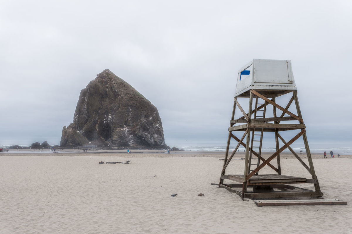 Beach Beach Photography Beachphotography Day Goonies Haystack Rock Landscape Lifeguard  Oregon Oregon Coast Sand Seascape Travel Travel Destinations