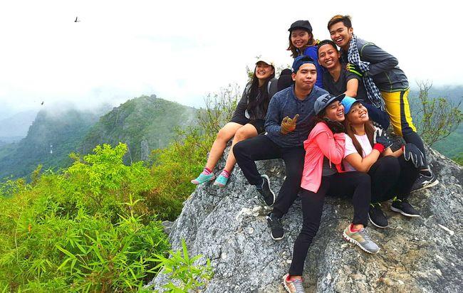 The birds are soaring high with us. Mt. Binacayan hiking adventure. Wheninmanila Itsmorefuninthephilippines Hiking Soarhigh Hello World