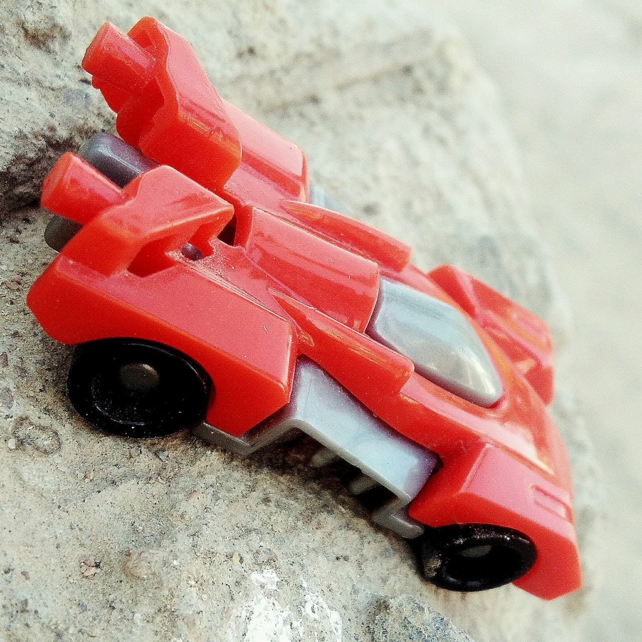 Close-up High Angle View Red Day No People ToyCar