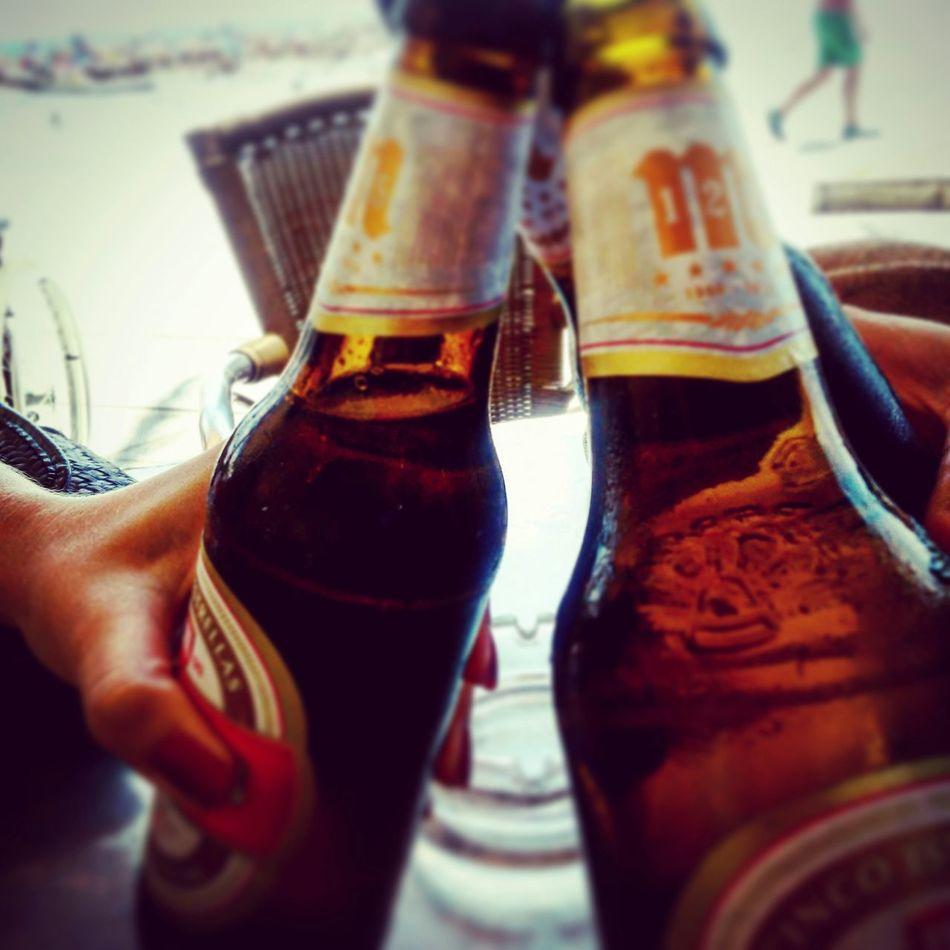 Cerveza Relaxing Sound Of Life Summertime Escapada Huida Good Day Good Morning World! LaViejaEscuela♡ Mahou