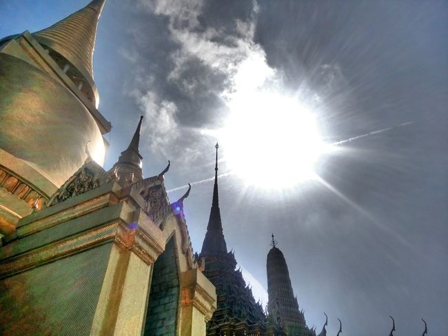 Hi! Hello World Taking Photos Landscapes Landscape_Collection Viewpoint From My Lens Capture The Moment Thai Temple Wat Prakeaw Bangkok