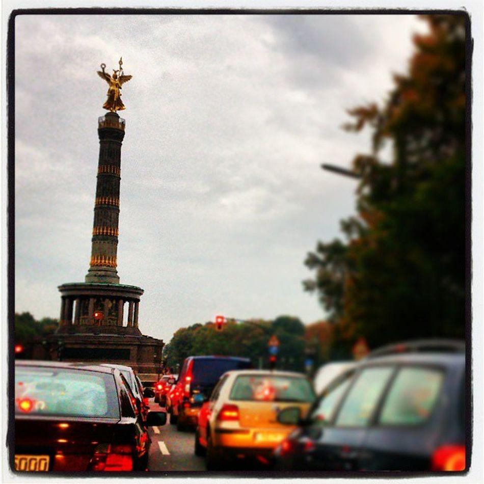 Auf der Jagt nach der Goldelse Siegess äule traffic Soistberlin  On The Road With BlaBlaCar