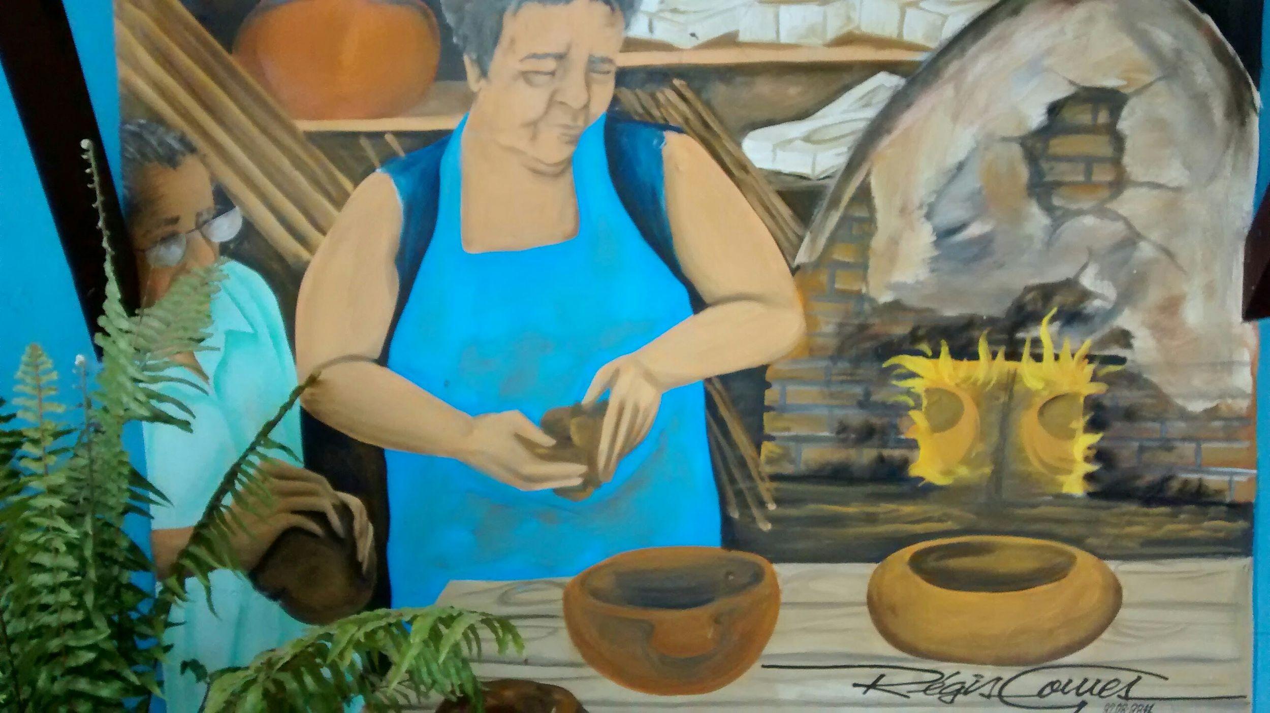 Ceramista Cuiabana. Cuiabá-Mt. Street Art