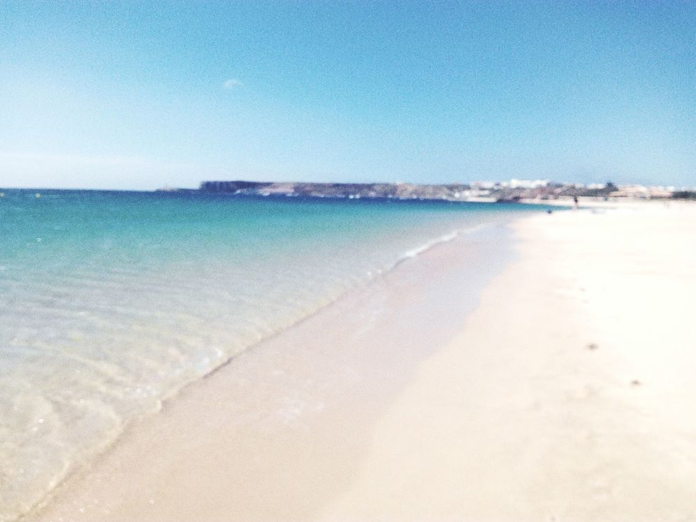 All I need is a blue sky Check This Out Relaxing Enjoying Life Blue Water Summer ☀ Portugalsemefeitos Beach Relaxing Sky