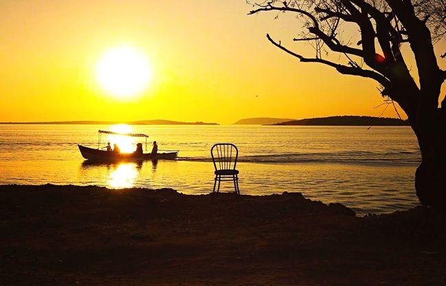 Gölyazı... Sunset Sea Sun Silhouette Summer Photograph First Eyeem Photo Followers Anlatistanbul Gulumseaska Fotografheryerde Hayatakarken Hdr_pics Fotografia Follow Foto Suretialem Photooftheday