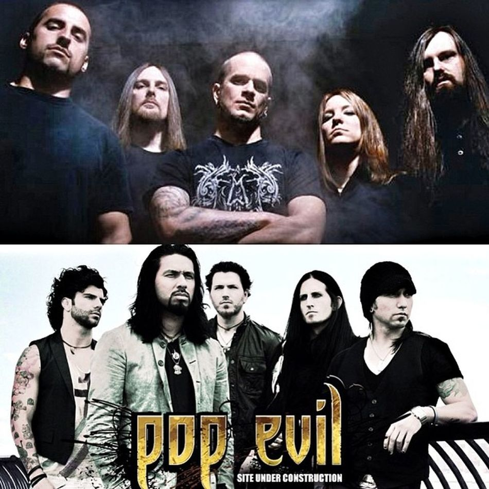 Sold out show tonight. AllThatRemains and PopEvil This show is gonna rock for sure. Should have some good pictures later.