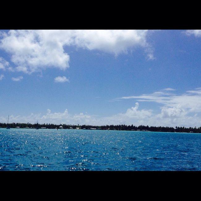 Tuamotu life Blue Ocean