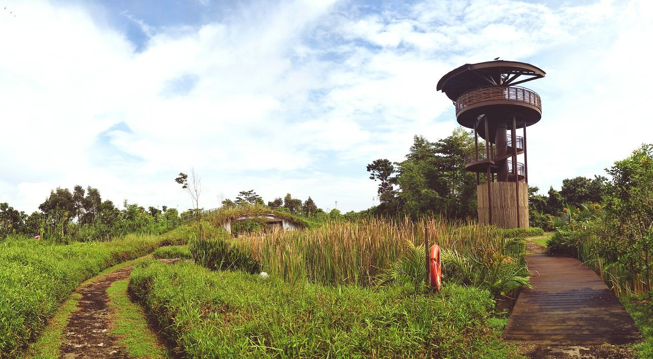 Kranji Marshes Hiking Viewpoint Background Nature Outdoors Cloud - Sky Beauty In Nature Bird Watching Perspectives On Nature Crafted Beauty