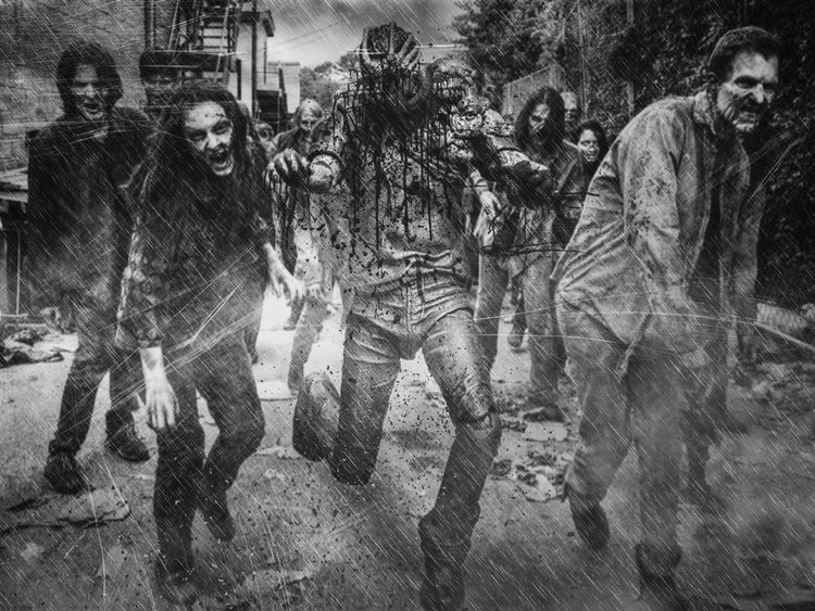 Zombie Thewalkingdead Check This Out Blackandwhite Blackandwhite Photography Toy Photography Photography