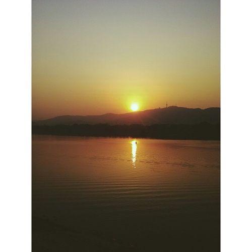 落日 岳麓山 湘江 长沙 湖南 sunset vsco vscocam changsha hunan china