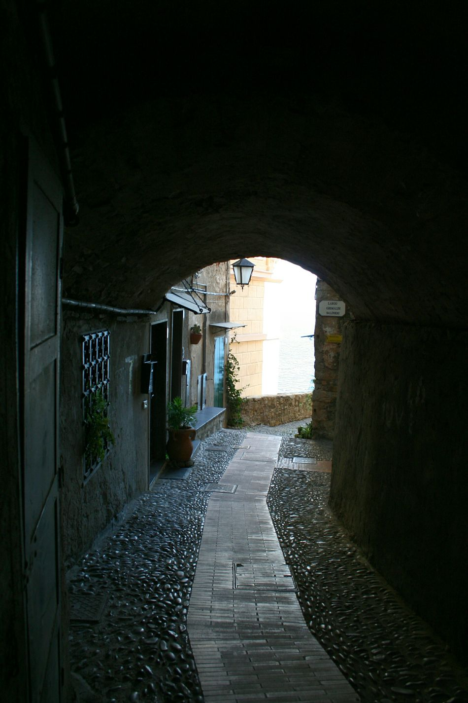 The Way Forward Tunnel Indoors  Arch Built Structure No People Architecture Archway Day Architectural Detail Liguria,Italy Old Buildings Architectural Details Italian Village  Travel Destinations Vicolo Del Paese Narrow Street Old Street Mediterranean Village Italian Village