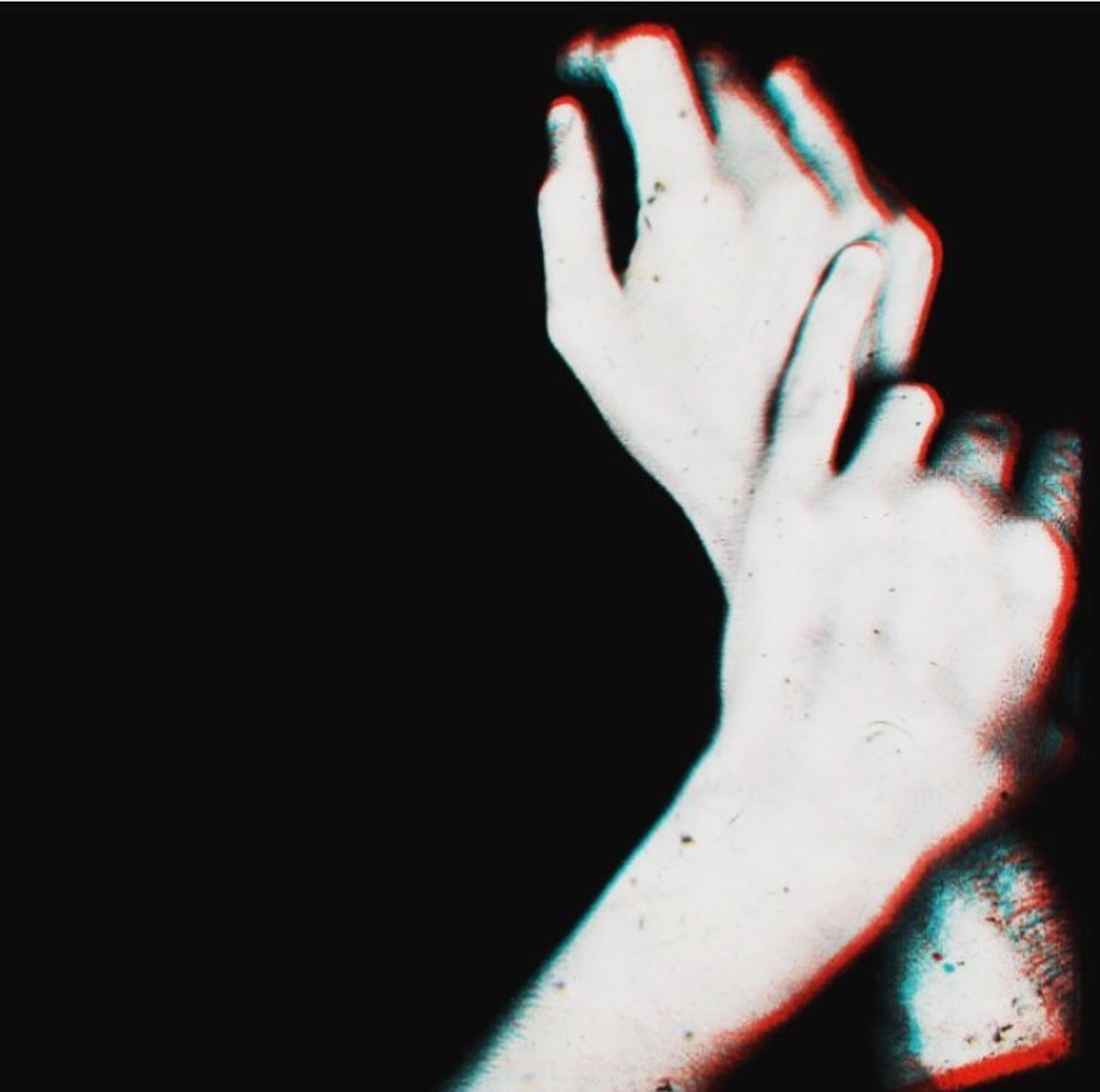 black background, one person, human body part, close-up, adults only, one woman only, pain, people, adult, human hand, day