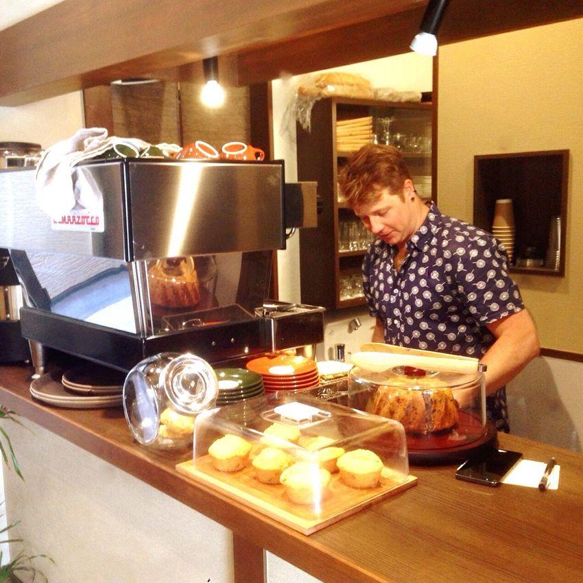 Kyoto Japan KIRIHA Cafe Cafe Australian Master 京都 日本 カフェ オーストラリア人の主人 五条