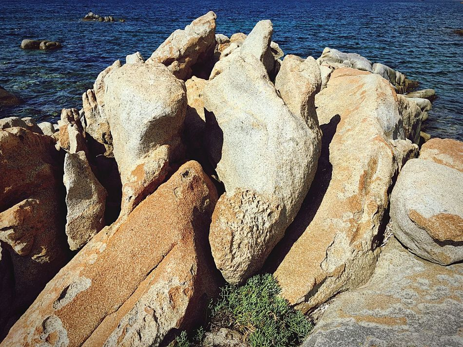 Sea Golfo Aranci Sardinia Sardegna Italy  Rocks Holiday Summer