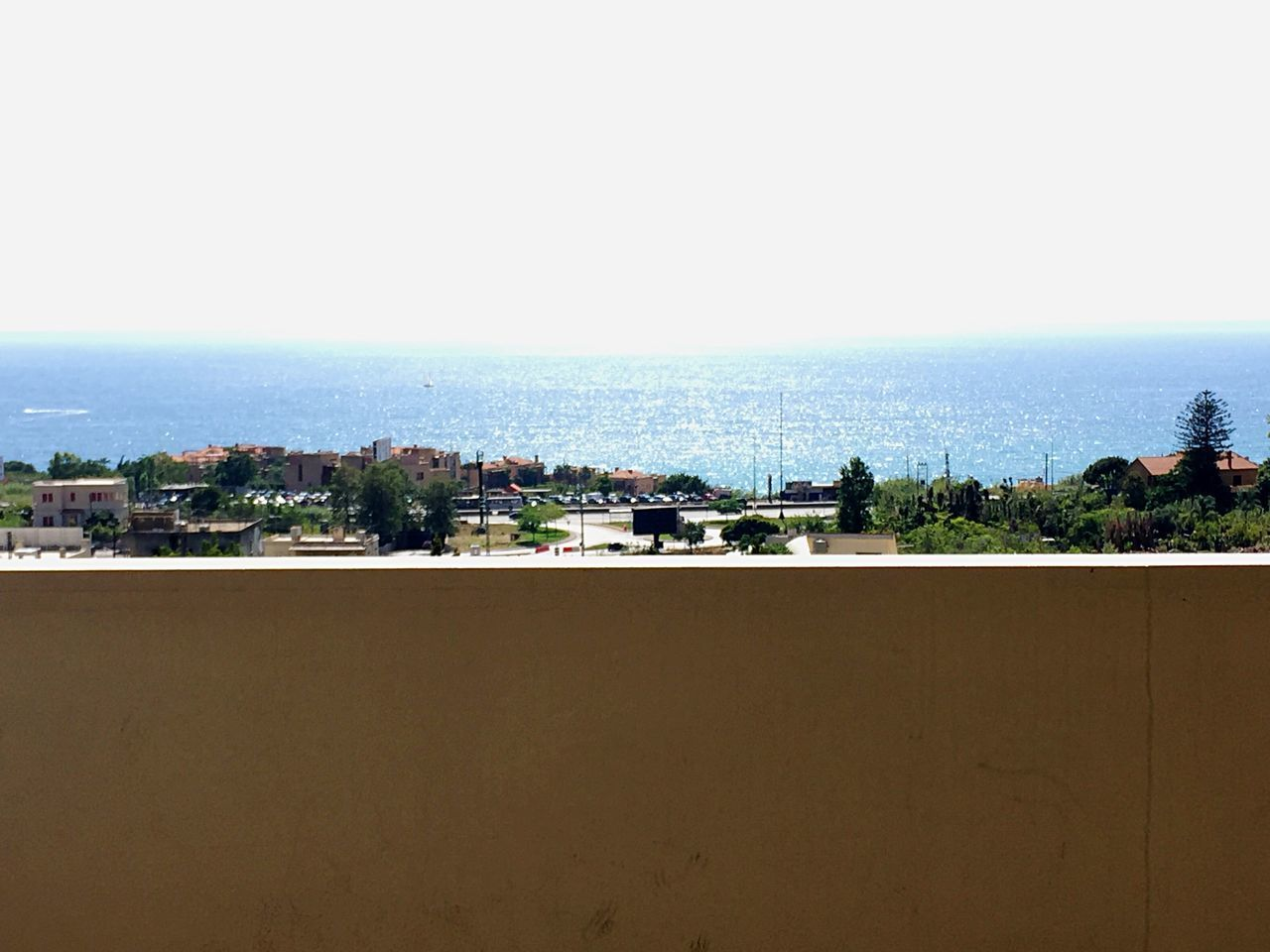 Clear Sky No People Mediterranean  Sea East Mediterranean Over The Edge Sunny Day