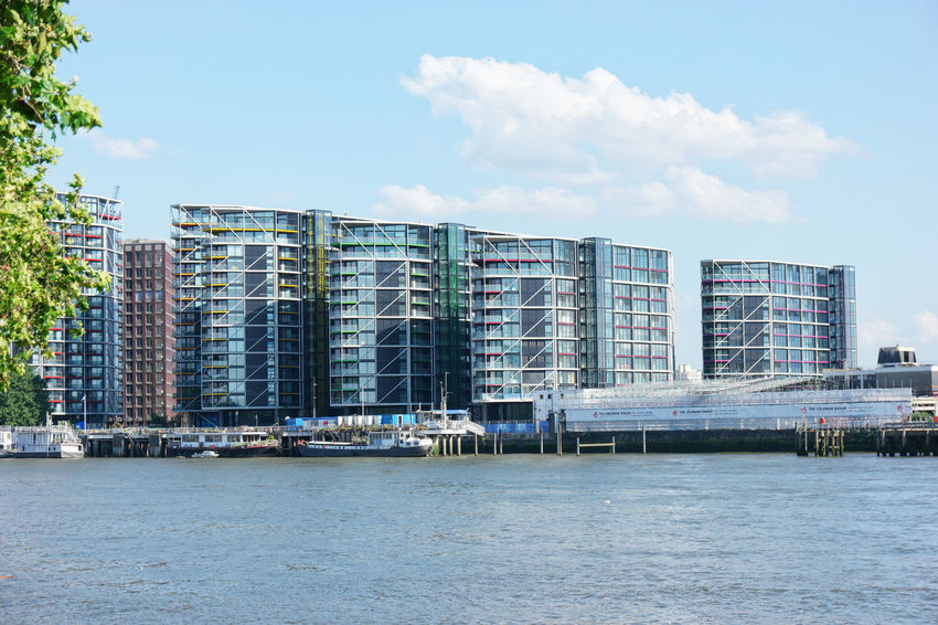 Apartment Buildings Architecture Dwellings Luxury Neo Bankside Riverside