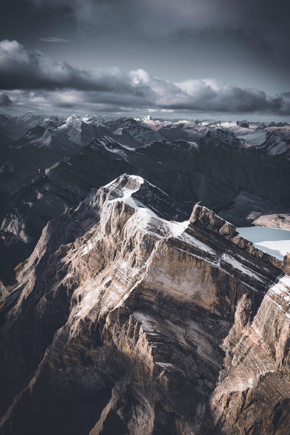 Never ending Rockies. Canada Mountain Nature Sky Mountain Range Outdoors Landscape Cloud - Sky No People Beauty In Nature Day