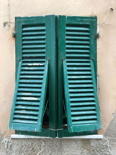 EyeEm Selects Closed Architecture Outdoors No People Day Summer Sardegna Building Exterior Window Green Old Town
